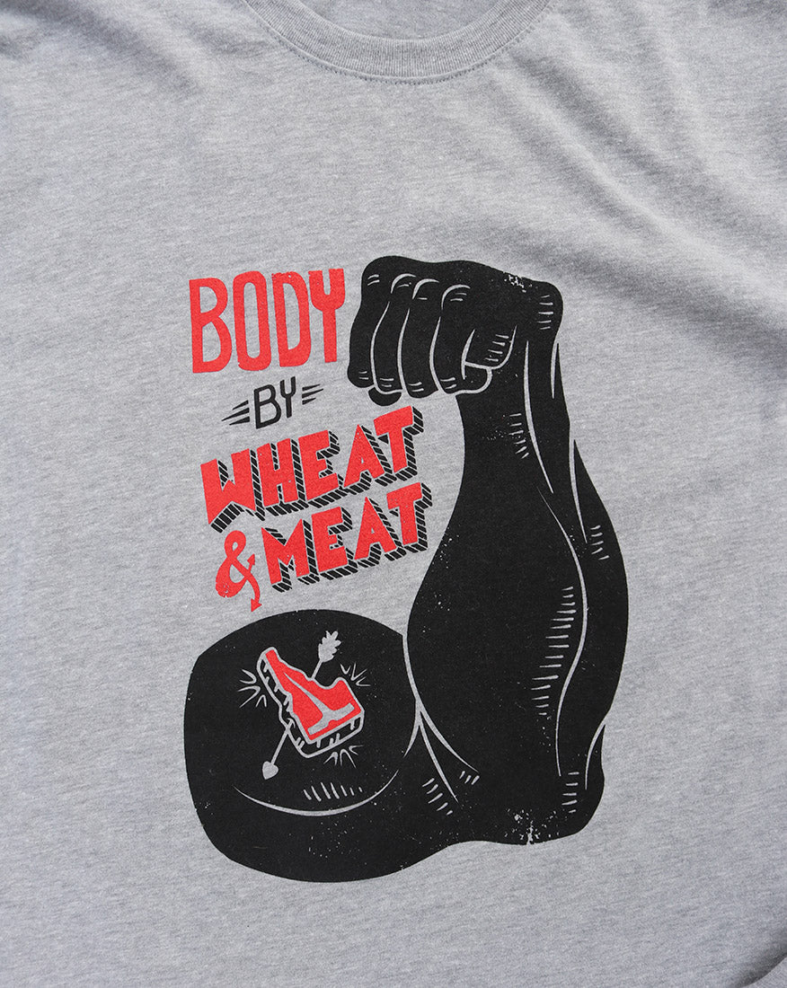 HBJ Wheat & Meat Mens Long Sleeve Tee