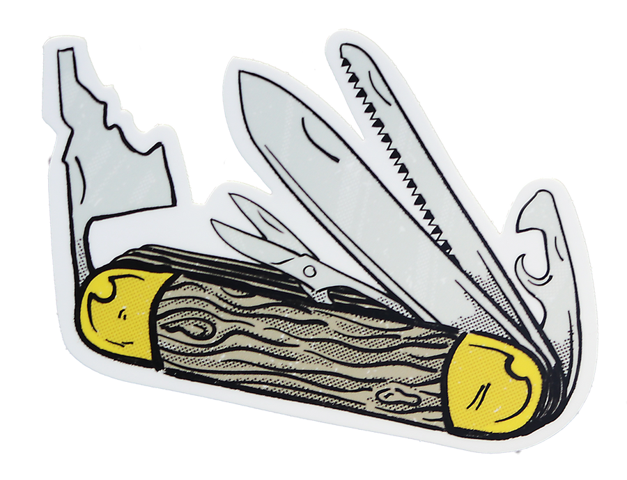 HBJ Idaho Pocket Knife Sticker