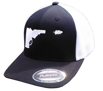 Idaho Tree-Gun Flex Fit Mesh-back Hat
