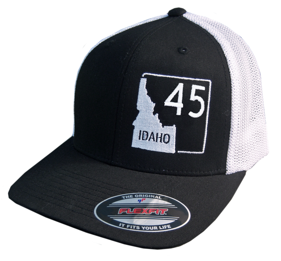Idaho Highway 45 Flex Fit Mesh-back Hat