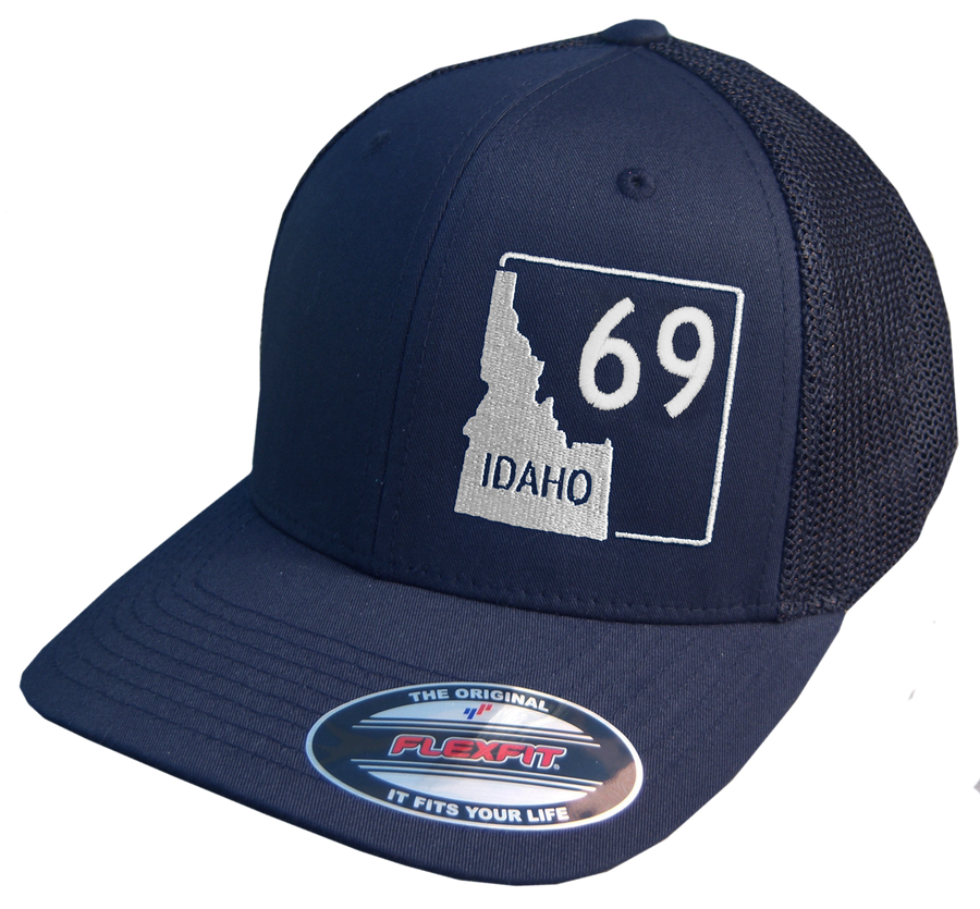 Idaho Highway 69 Flex Fit Mesh-back Hat