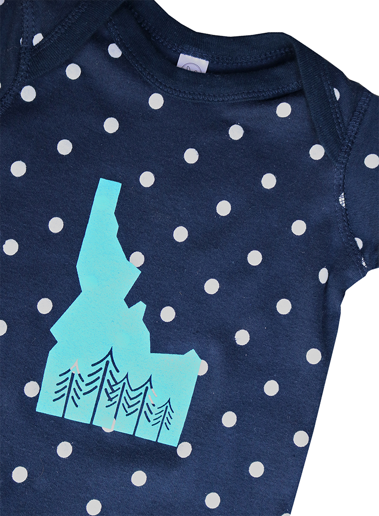 Grown in Idaho Baby Onesie