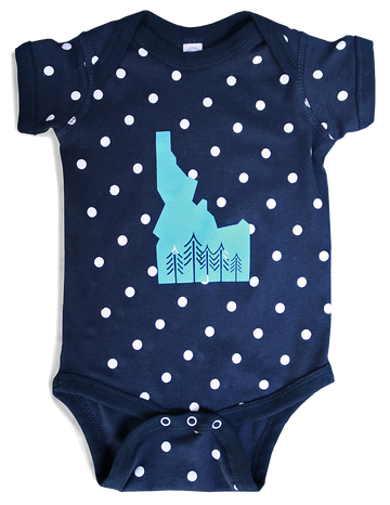 Grown in Idaho - Baby Onesie
