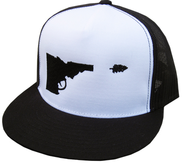 Idaho Tree-Gun Trucker Hat f8dc027c3a8