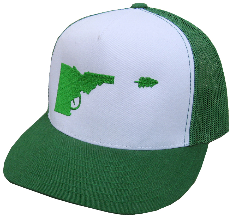 Idaho Tree-Gun Trucker Hat