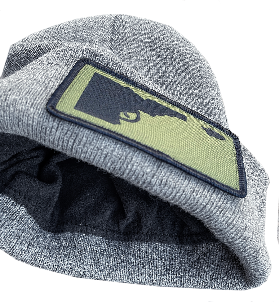 Idaho Tree-Gun Foldover Patch Beanie