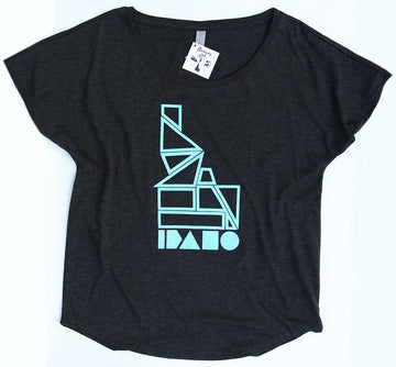 LAST CHANCE Geo Idaho Ladies Tee