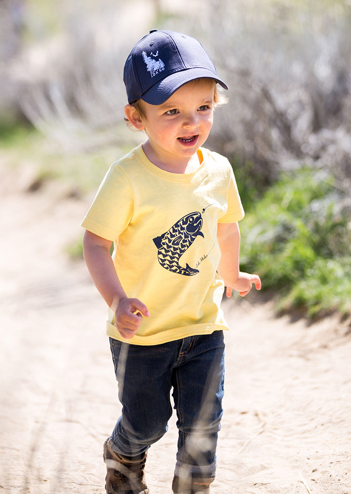 Fish Idaho Toddler Tee