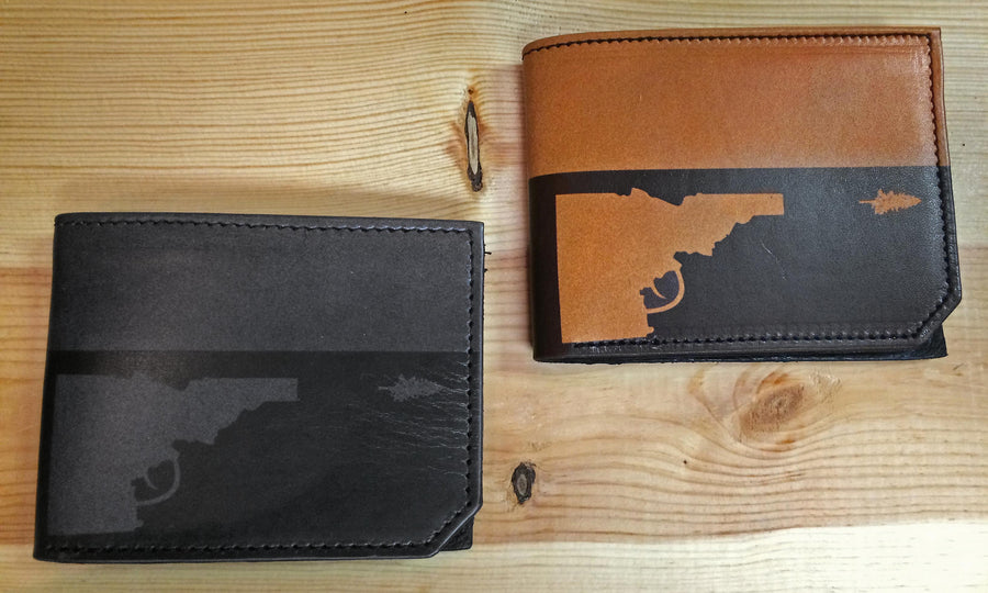 Idaho Tree-Gun Wallet