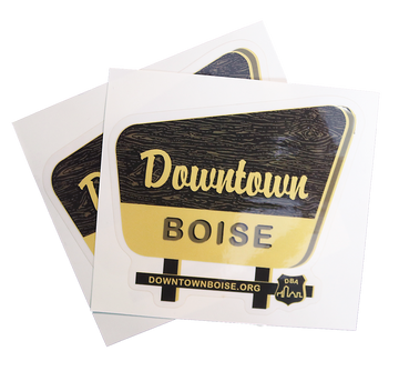 Downtown Boise Sign Sticker