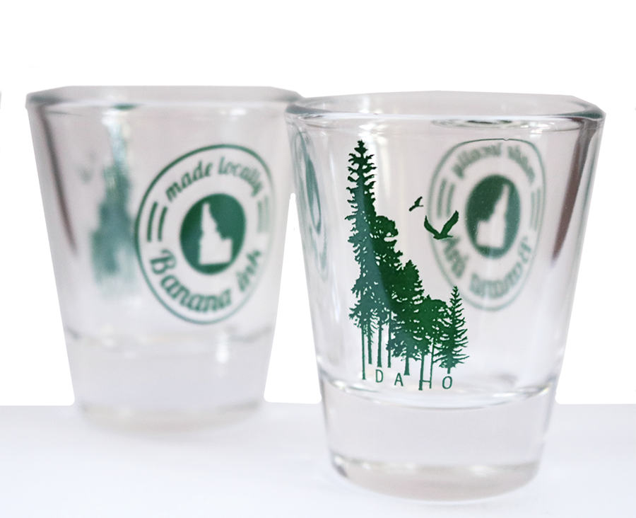Idaho Wilderness Shot Glass
