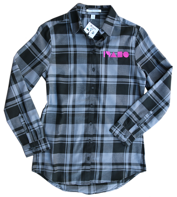 Geo Idaho Women's Plaid Long Sleeve