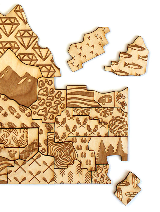 Idaho Counties Puzzle by Lost Little Things