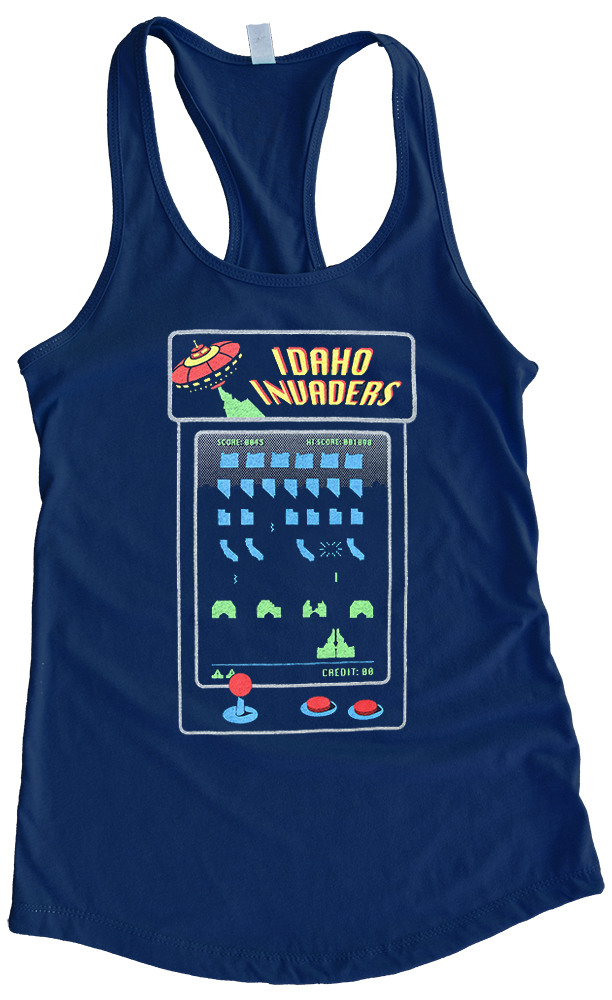 Idaho Invaders Ladies Tank