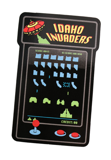 Idaho Invaders Sticker
