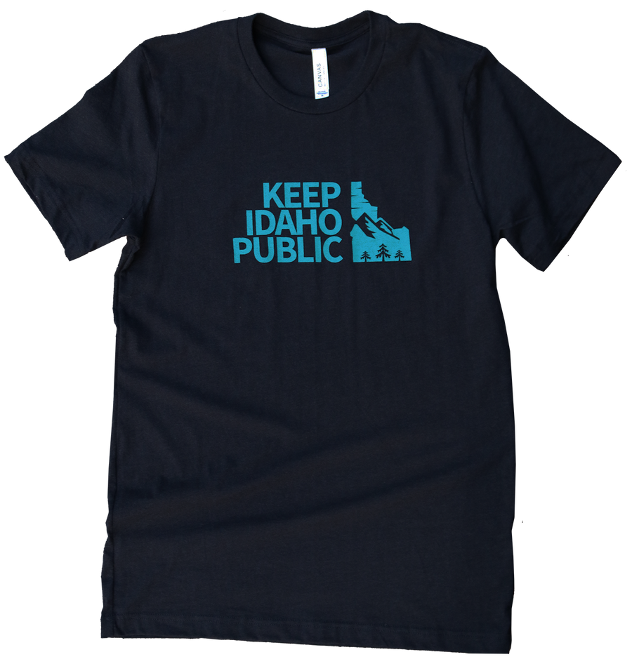 Keep Idaho Public Mens Tee