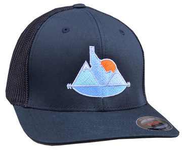 Idaho Sunset Flex Fit Mesh-back Hat