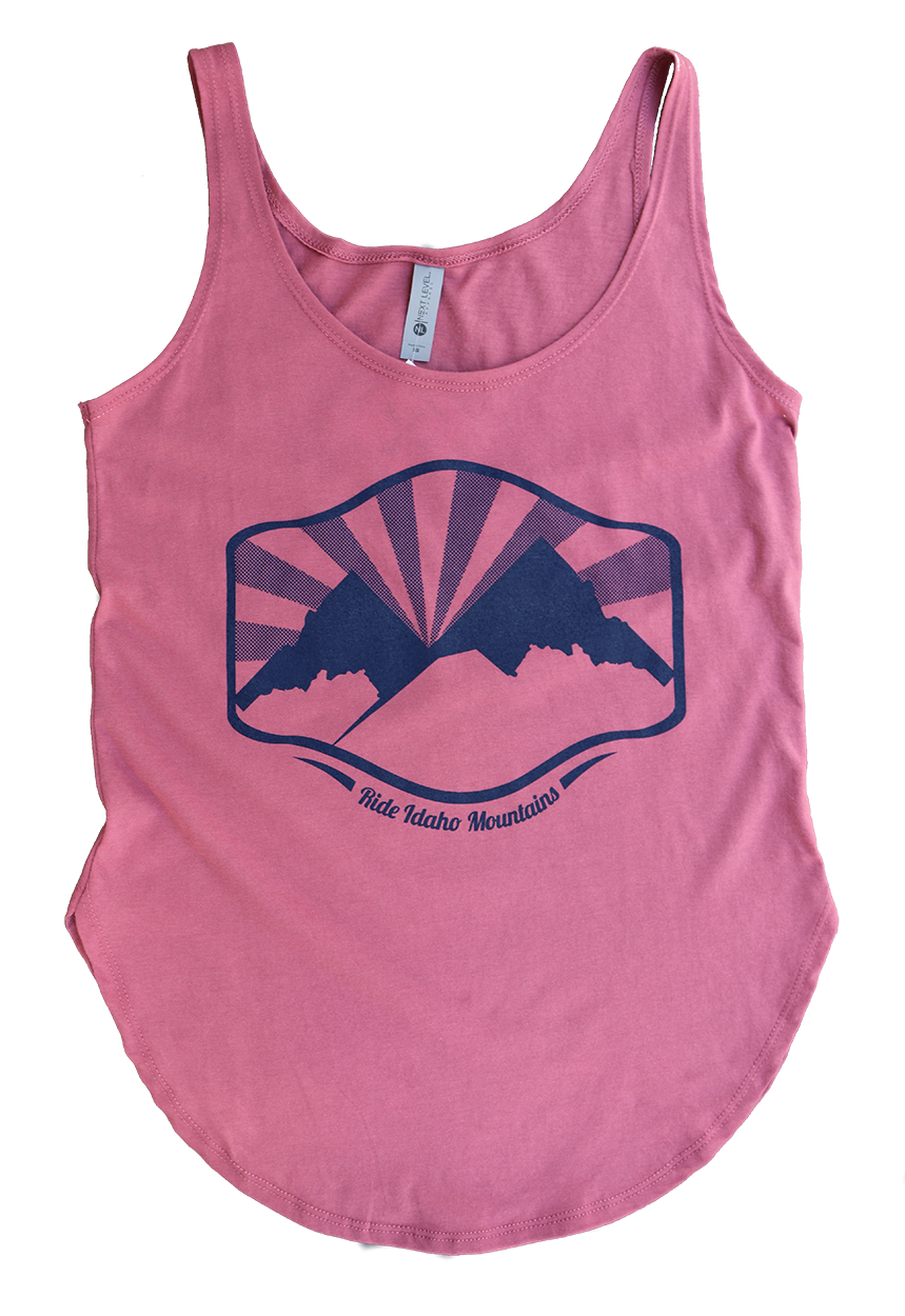 Idaho Mountains Ladies Tank