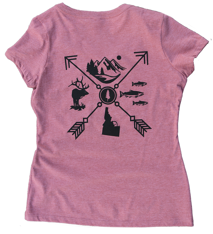 Arrow Women's Tee (back)