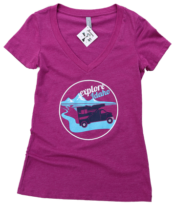 Explore Idaho Ladies Tee