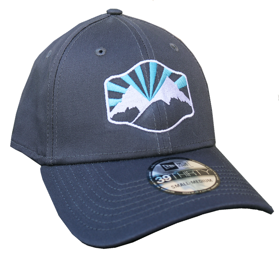 Idaho Mountains Curved-Bill Fitted Hat