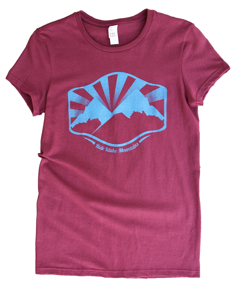 LIMITED EDITION Idaho Mountains Ladies Tee