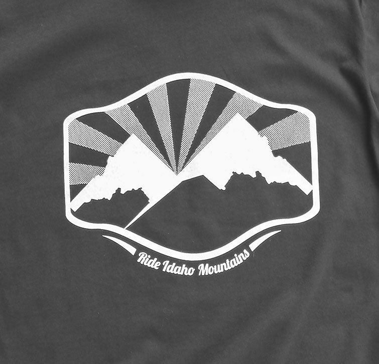 Idaho Mountains Mens Tee