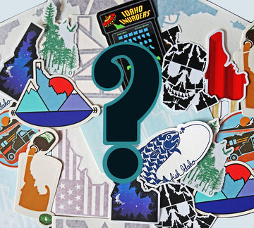 Mystery Idaho Sticker Pack!