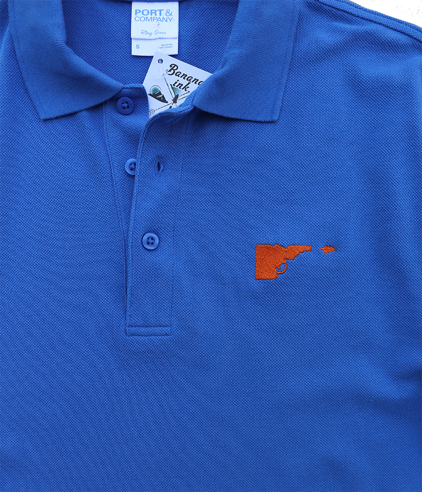 Idaho Tree-Gun Mens Polo