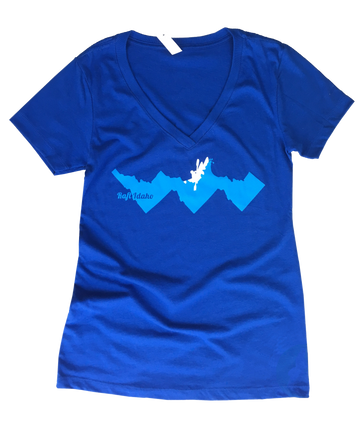Raft Idaho Ladies Tee