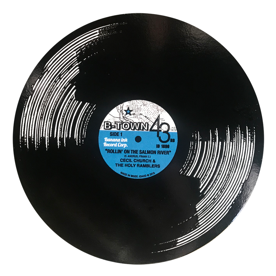 B-Town Record Sticker