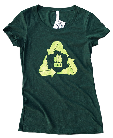 Recycle Idaho Ladies Tee