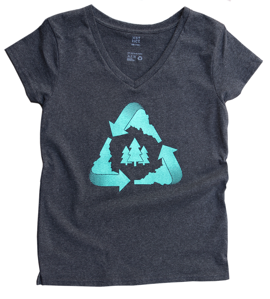 SPECIAL EDITION Idaho Recycle Women's Tee