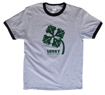 LIMITED EDITION Idaho Shamrock Mens Tee