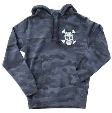 Glow-in-the-Dark Idaho Skull Hoodie - LIMITED EDITION