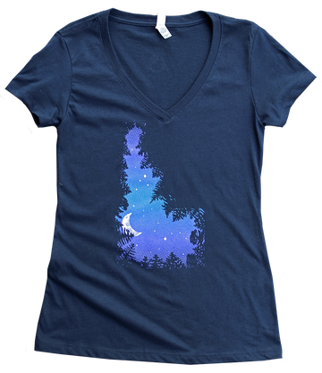 NEW! Skydaho Ladies V Tee