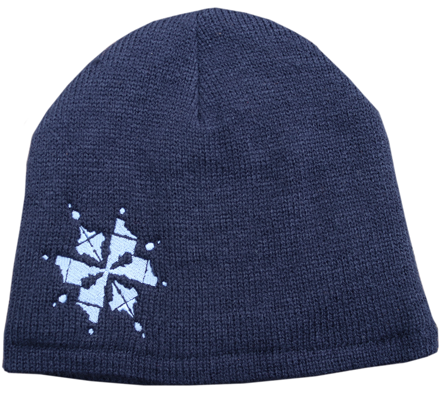 Idaho Snowflake Fleece-Lined Beanie
