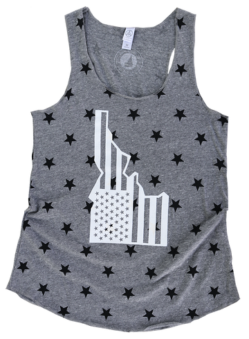 LIMITED EDITION - Star-Spangled Idaho Ladies Star Tank