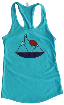 Idaho Sunset Ladies Tank