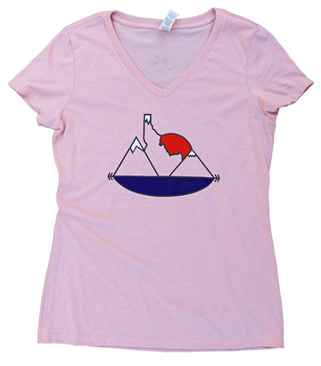 Idaho Sunset Ladies Tee