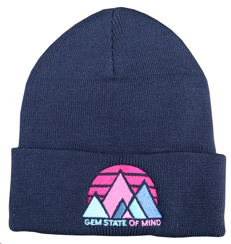Gem State Fold Over Beanie