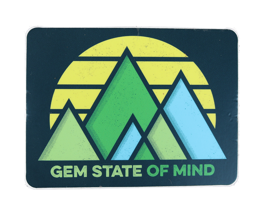 Gem State of Mind Sticker