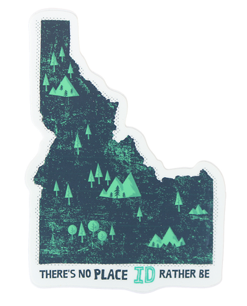 ID Rather Be Idaho Sticker