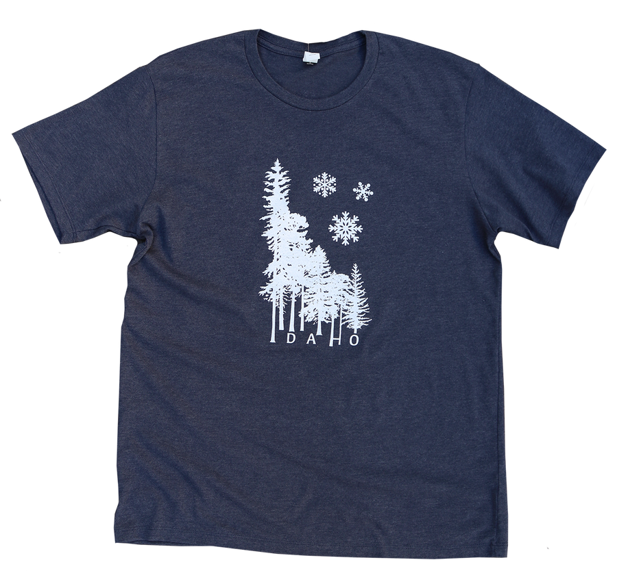 Idaho Winter Wilderness Mens Tee