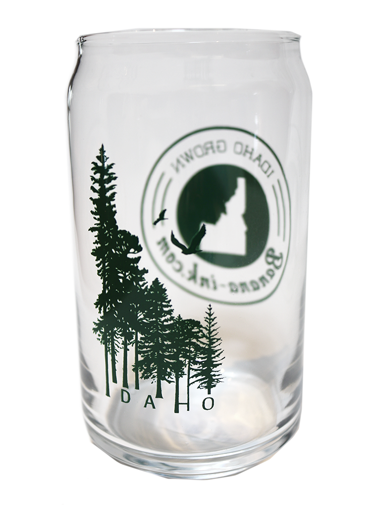Idaho Wilderness 16oz Glass