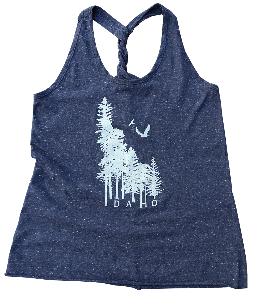 Idaho Wilderness Ladies Twisty Tank