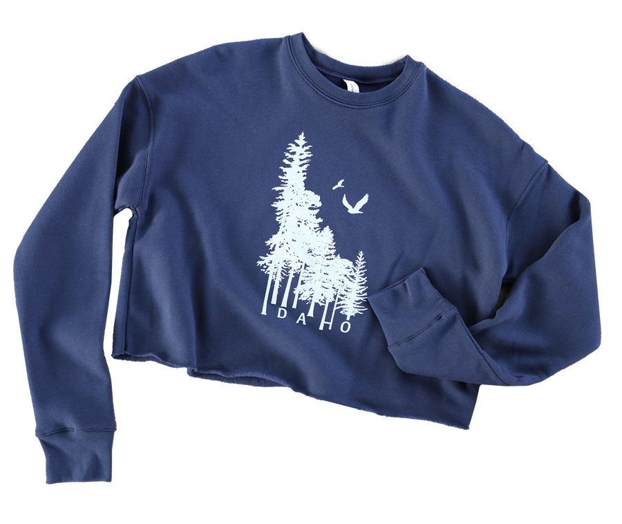Idaho Wilderness Crop Sweatshirt