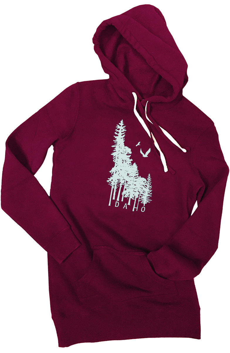 Idaho Wilderness Sweatshirt Dress