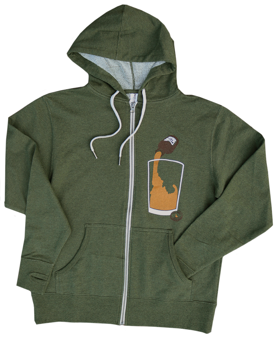 Idaho Brew Zip Sweatshirt