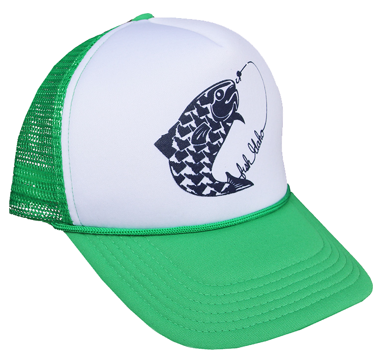 Fish Idaho Foam Trucker Hat